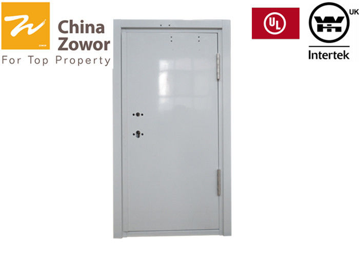 UL Listed 3'X7' RH Open Fire Safety Door Powder Coating Finish High Security